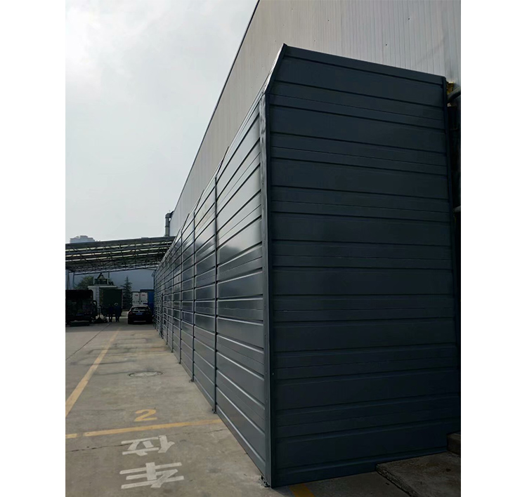蜀海(北京)食品有限公司西咸新区分公司冷库压缩机空调噪音治理