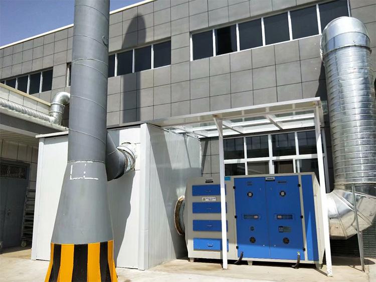 康达橡胶厂风机隔音房