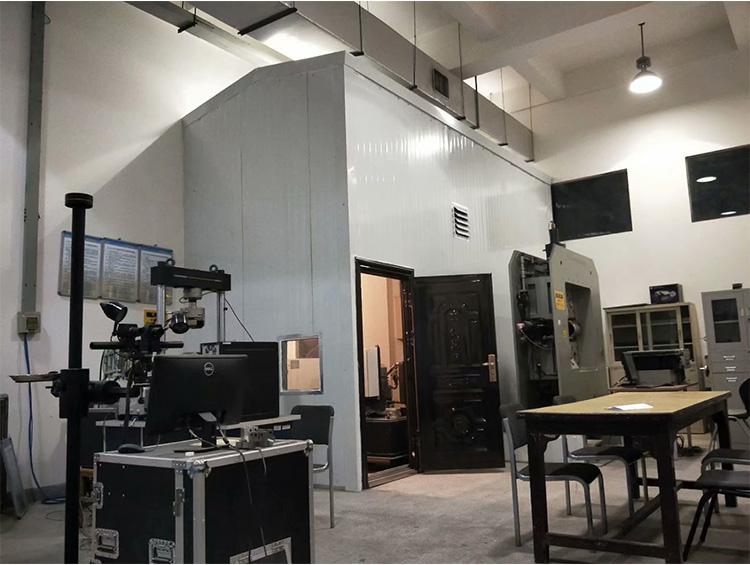 西北工业大学(友谊校区)实验室液压机隔音房噪音治理
