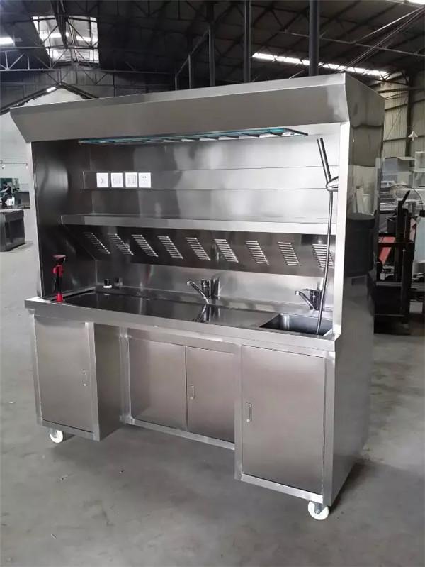 不锈钢取材台