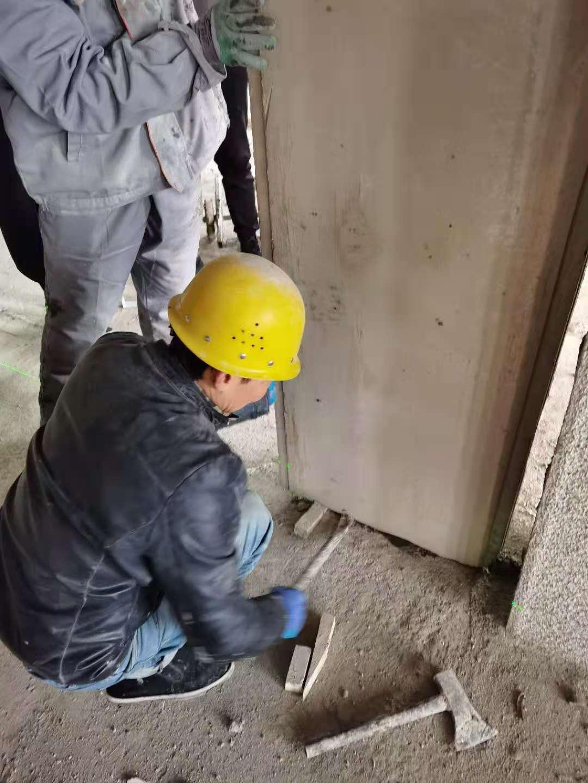 轻质隔墙现场施工