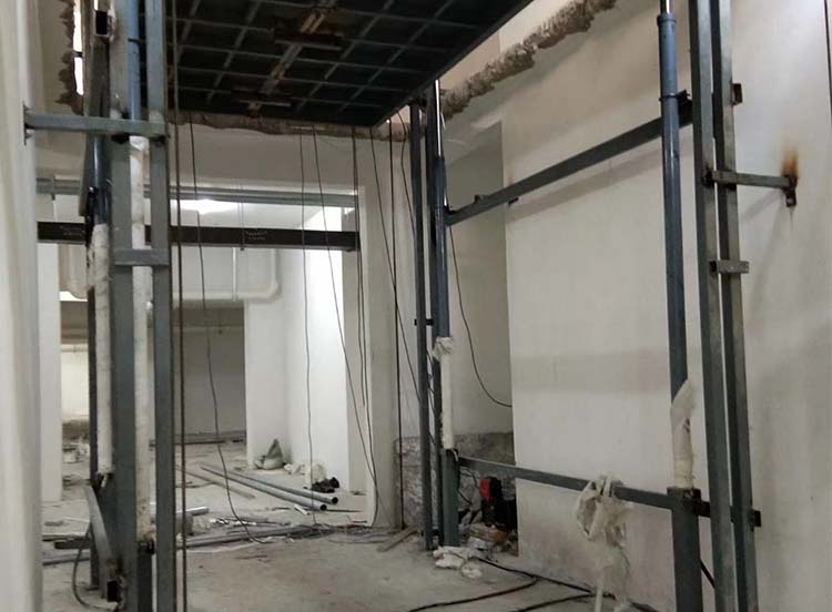 升降货梯安装成功案例展示