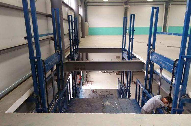 车间升降货梯安装