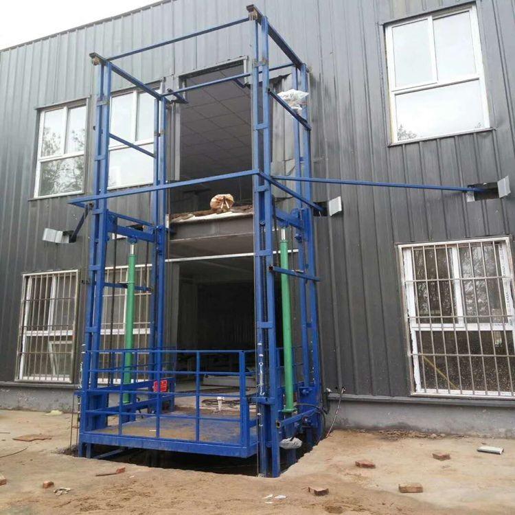 導軌鏈條式液壓升降貨梯的概述及使用方法