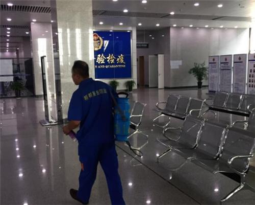 西安公安出入境大厅