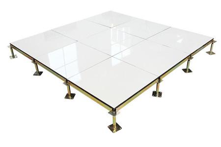 酒泉铝合金防静电地板