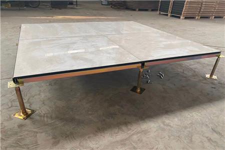 60M×100M防静电地板安装