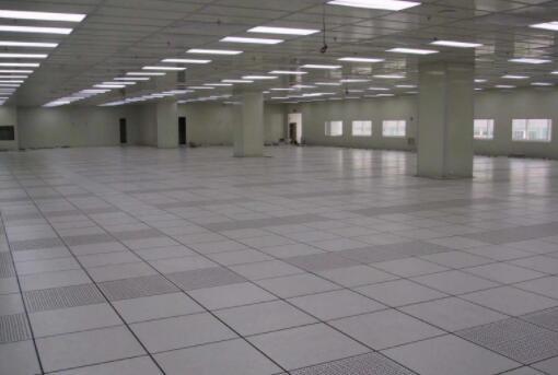 机房防静电地板施工