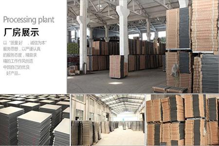防静电地板厂区展示