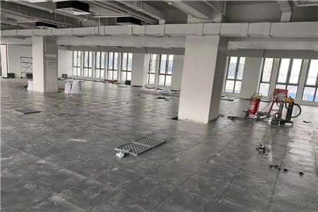 钢制防静电地板施工工程