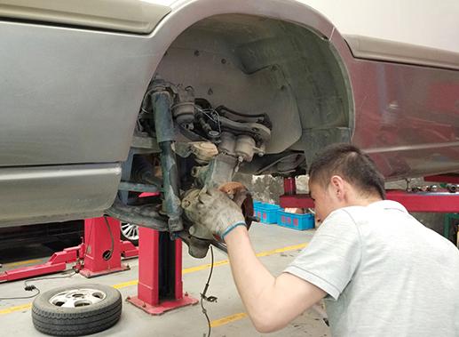 兰州粤海汽车维修全过程