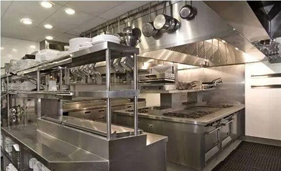 大型酒店厨房设备