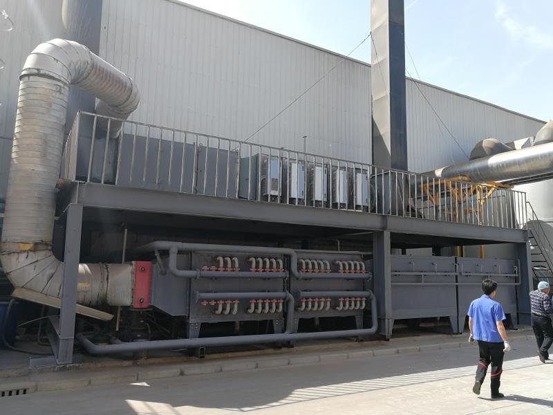 品质款催化燃烧设备voc工程有机废气处理设备
