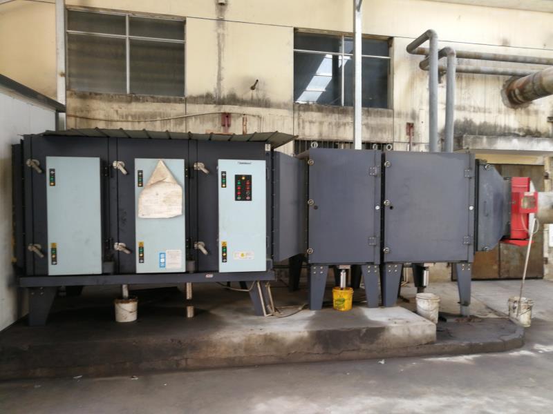 VOC工业有机废气处理工程 废气处理 净化塔废气净化设备