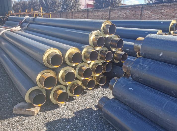 超耐温钢套钢蒸汽保温钢管性能特点介绍