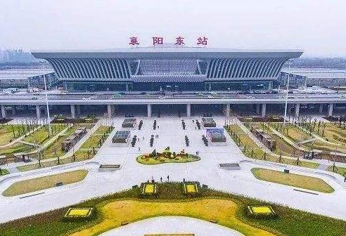 襄阳东站周边人行步道