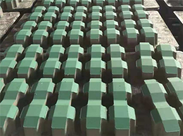 人行道植草砖