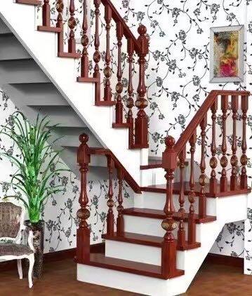 河南實木樓梯案例