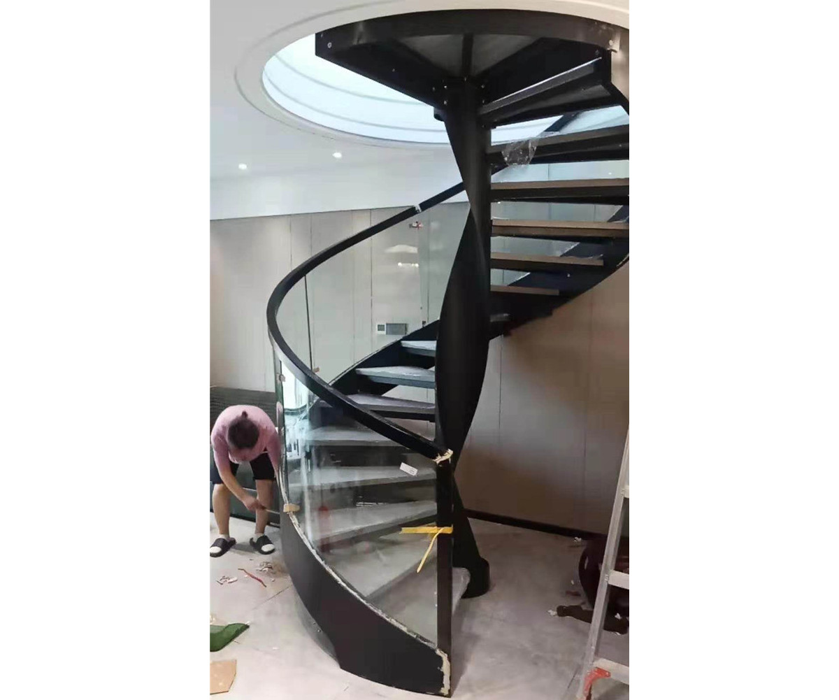 河南鋼木樓梯踏步高度一般設置多高比較合適呢