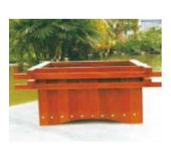 新疆环保用品-木质花箱
