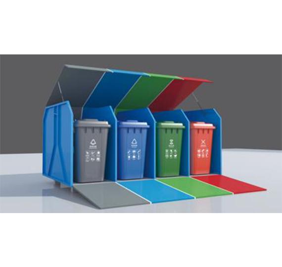 生活垃圾分类箱