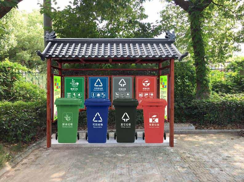 有了垃圾桶了为什么还需要垃圾亭