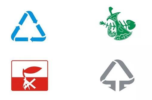 垃圾桶分类的颜色和标志的不同之处
