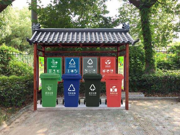垃圾亭收集垃圾的效果体现在哪方面?