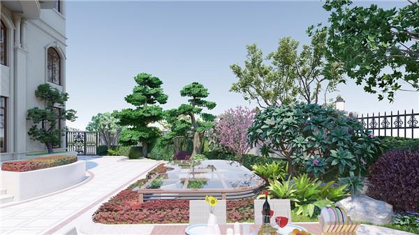 陕西庭院景观设计