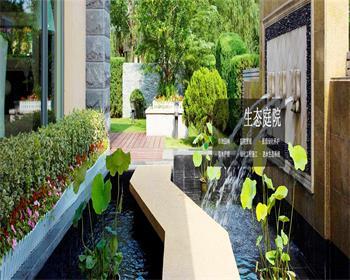 简述陕西庭院设计公司是如何设置植被空间的?