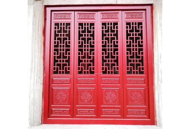 四川仿古門窗設計