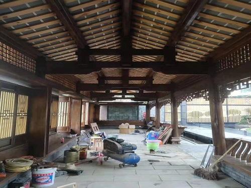 資陽古建筑施工案例