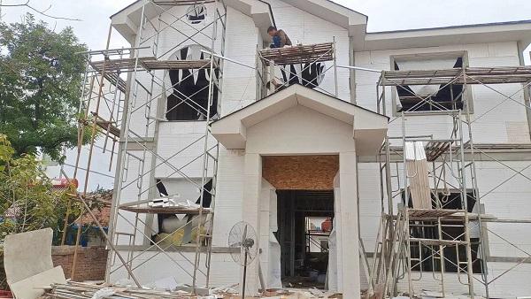 河南保温挤塑板施工案例