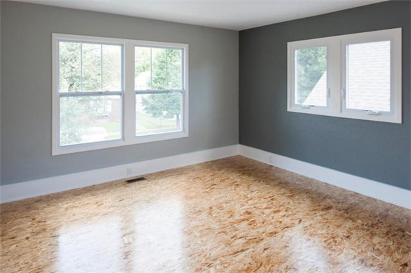 欧松板铺设的地板你见过吗?