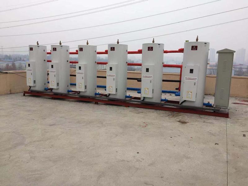 公司巡检洛阳蓝途酒店商用热水器使用情况