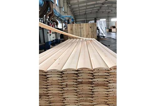 弧形建筑木材料