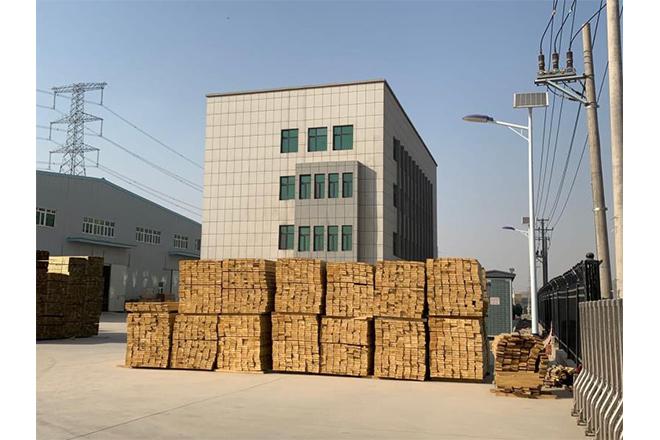 客户订购木模板产品