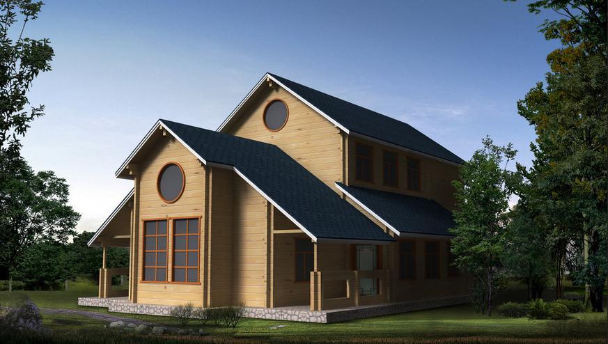 新疆小木屋建造厂家谈谈木屋别墅的特点