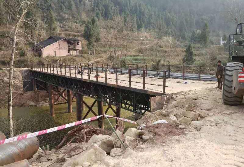 新禾达瑞为你介绍四川贝雷桥梁的下部操作规范
