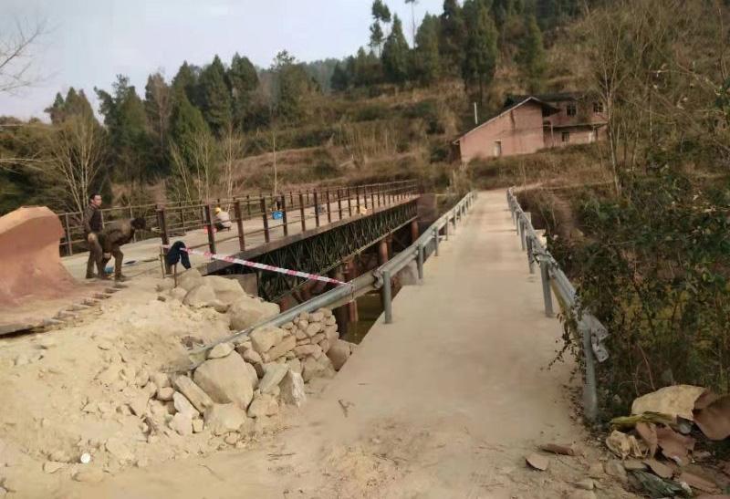 这些关于四川贝雷桥的基本信息,你都了解了吗