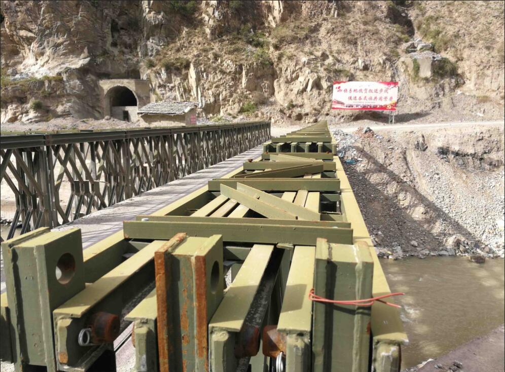 钢便桥施工案例