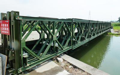 四川贝雷桥施工