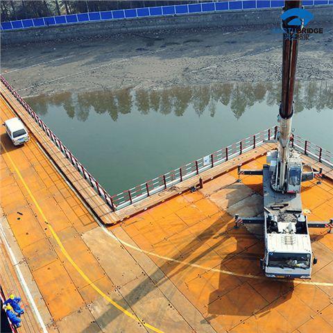 四川钢便桥厂家为你解读钢便桥的具体施工流程