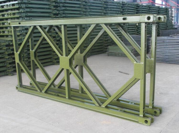 四川贝雷片在桥架斜梁使用注意事项