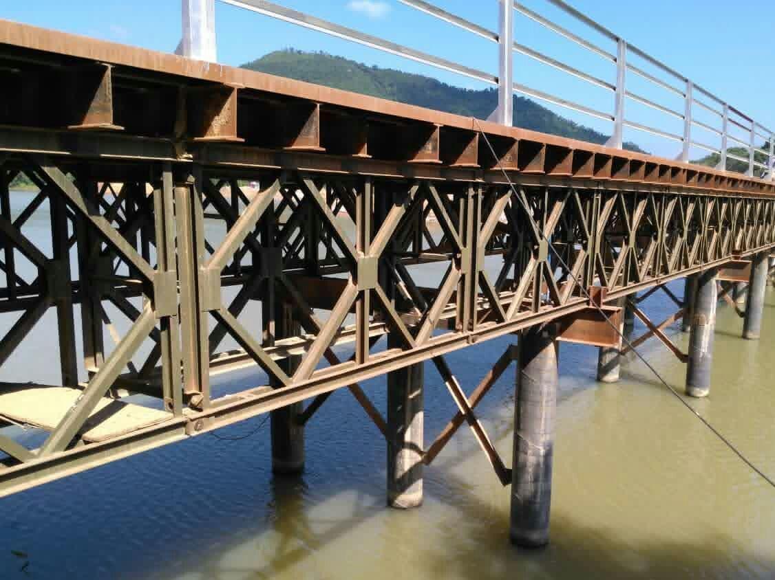 公路抢险需要为什么建设四川贝雷桥?