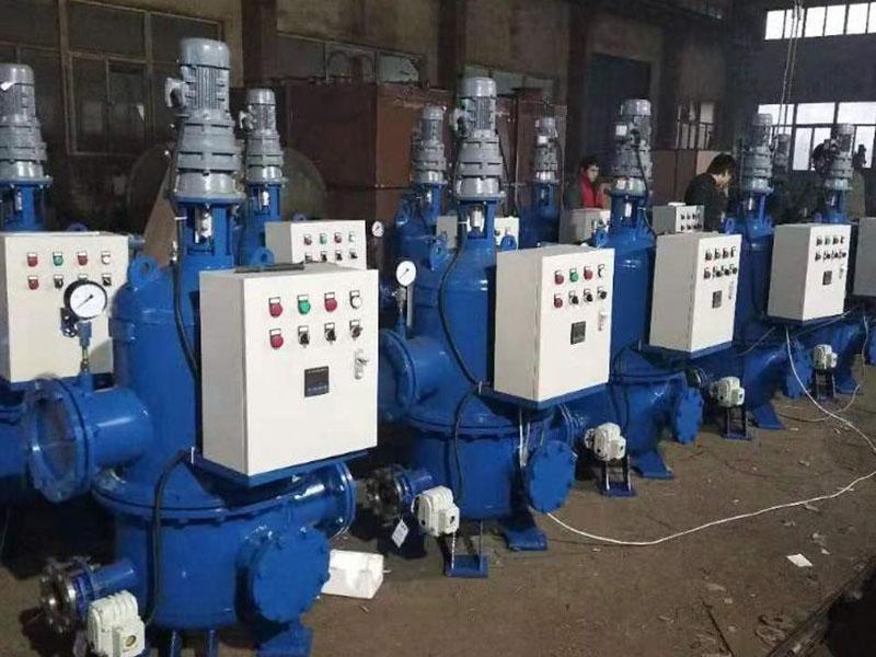 全自動工業濾水器的適用范圍
