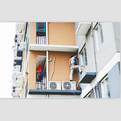 成都小区空调安装