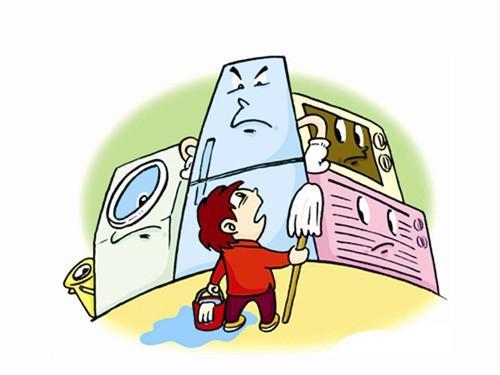 成都家电清洁告诉你在房间杂乱时应该如何做