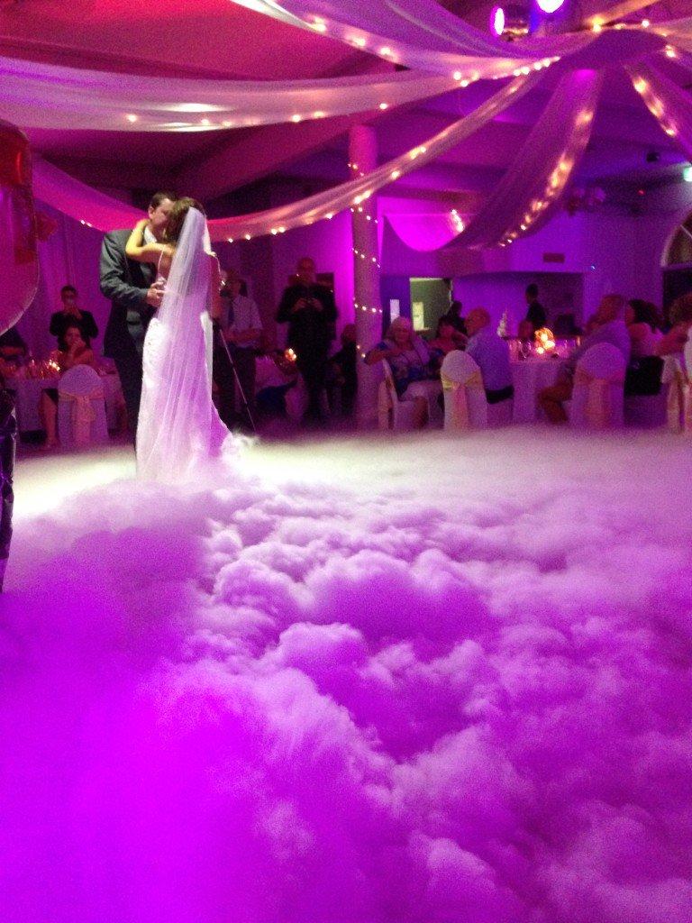 资阳四达干冰机在婚礼上的应用