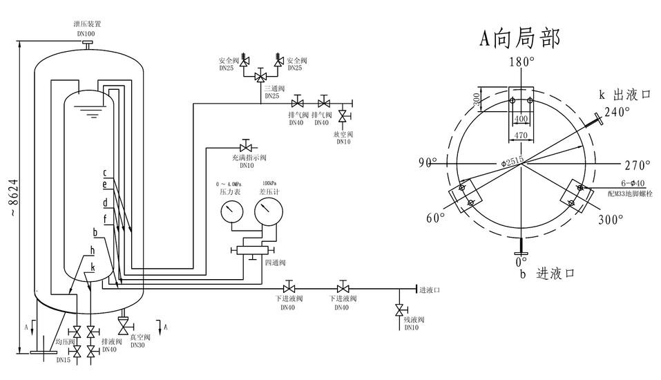 低温贮槽流程图